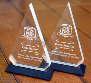 2015 Forest City Bassmasters Angler of the Year Awards